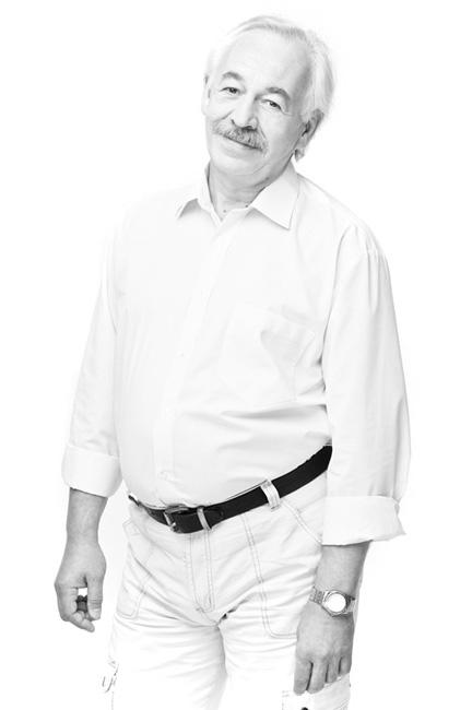 Aktor Teatru Dramatycznego w Białymstoku Jerzy Taborski