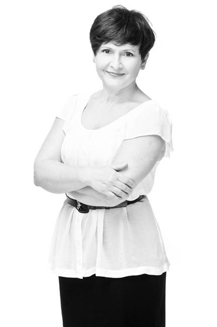 Aktorka Teatru Dramatycznego w Białymstoku Jolanta Borowska