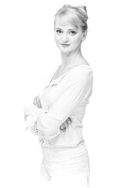 Aktorka Teatru Dramatycznego w Białymstoku Katarzyna Mikiewicz