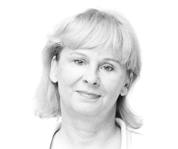 Aktorka Teatru Dramatycznego w Białymstoku Krystyna Kacprowicz-Sokołowska