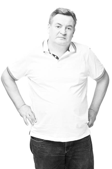 Aktor Teatru Dramatycznego w Białymstoku Marek Tyszkiewicz